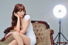 CuteKorean: Lee Eun Hye in White
