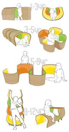 Utilisation of kids folding chairs – Julie Stores Kids Furniture, Furniture Design, Urban Furniture, Unusual Furniture, Modular Furniture, Cheap Furniture, Furniture Projects, Furniture Makeover, Industrial Design Sketch