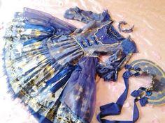 Tie Dye Skirt, Royal Blue, Carnival, Chokers, Sleeves, Crystal, Shoulder, Dresses, Style