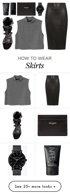 """legend"" by grey-eyes on Polyvore featuring Yves Saint Laurent, The Horse, Monki, Dorothy Perkins and NARS Cosmetics"