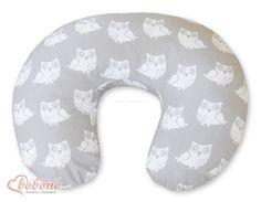 Rozbieralna poduszka fasolka do karmienia ze sówkami. Pillows, Products, Cushions, Pillow Forms, Cushion, Scatter Cushions, Gadget
