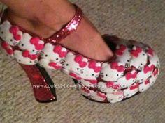 someones home made hello kitty heels