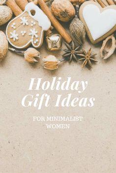 Christmas gift ideas for minimalist women