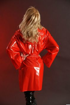 Plastic Skirt, Plastic Pants, Red Raincoat, Raincoat Jacket, Parka, Latex, Pvc Vinyl, Macs, Unisex