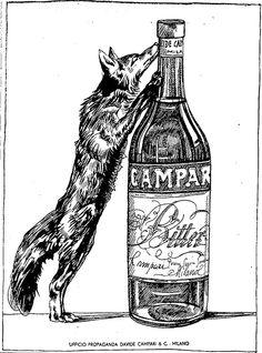 Campari - annunci sul Corriere della Sera - dopo 1937