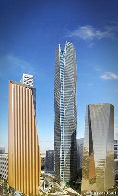 Capital Market Authority Tower - The Skyscraper Center Futuristic Architecture, Architecture Design, Tower Building, City Wallpaper, Riyadh, Facade, Skyscraper, Saudi Arabia, Kittens