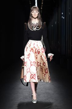 Pictures of the Gucci Ghost Fall 2016: Graffiti Bags, Coats By Trouble Andrew: Glamour.com