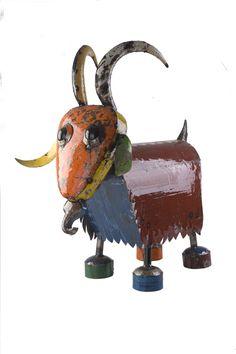 Billy The Goat Outdoor Garden Sculpture