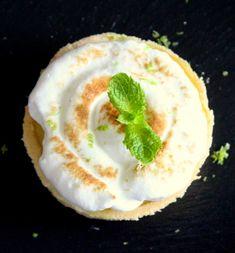 JC pâtissier: Tartelette citron vert-menthe ou tartelette Mojito