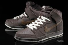 Just got these!! Nike SB Dunk High   Baroque Brown   Dark Khaki   Cashmere | Available