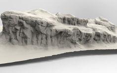 Rock/Terrain Speed sculpt studies, Jared Sobotta on ArtStation at https://www.artstation.com/artwork/rock-terrain-speed-sculpt-studies-a8c78a8f-f7a0-4fb1-a8fe-91f16cef631d