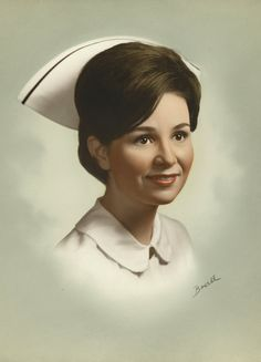 LOVE this protrait... My RN Nursing Cap looked just like this one... Miss the Uniform and the Cap... brought Respect.