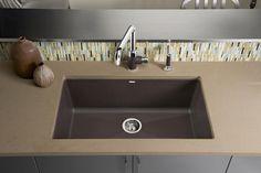BLANCO PRECIS™ Super Single Bowl: Sophisticated, Yet Simple. This Spacious  Design Easily · Blanco SilgranitGranite SinksSingle ...
