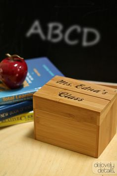 great gift for the teacher!