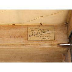 Louis Vuitton Cabin Trunk with D.P.P initials - Louis Vuitton - Brands - Vintage Luggage Company