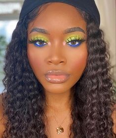 Makeup Eye Looks, Cute Makeup, Eyeshadow Looks, Beauty Makeup, Hair Makeup, Hair Beauty, Makeup Inspo, Makeup Inspiration, Makeup Goals