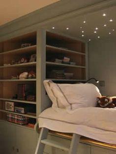 bedroom lighting ideas.... kids room, play area...reading nook?