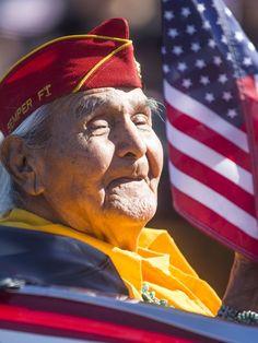 Navajo code talker Joe Hosteen Kellwood is dead at 95