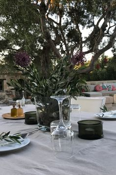Elia Restaurant and Bar, open daily from - combining traditional food & international varieties 🍴 made with local Zakynthian products. Restaurant Bar, Dining Area, Sun Lounger, Swimming Pools, Backdrops, Table Settings, Greek, Traditional, Table Decorations