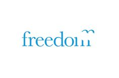 Freedom Travel logo designed by The Chase.