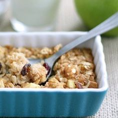Apple Cinnamon Baked Oatmeal - Meal Inspiration Tips & Advice | mom.me
