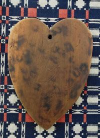 Large Wooden Heart Cutting Board