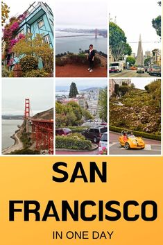 What to visit in San Francisco in less than a day | Lombard Street | Golden Gate Bridge | Transamerica Pyramid | California adventure | San Francisco | San Francisco California | West Coast USA | Travel USA | what to see in San Francisco | Things to do in San Francisco #SanFrancisco #USA