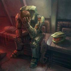 Master Chief John-117 - This makes me sad (Halo)