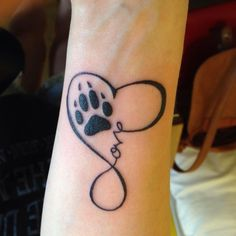 65 Best Paw Print Tattoo Meanings and Designs to Appreciate Your Pets