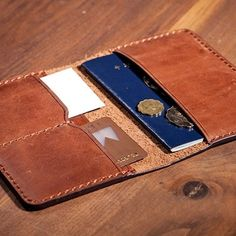 Leather Credit Card Wallet, Leather purse, leahter Card holder,coin purse,wallet,leather case,personalized gifts.-SR