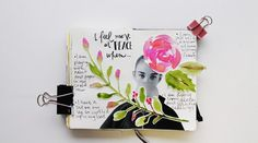 @kahlert | Creative Team Inspiration | Messy Lists | Get Messy Art Journal