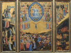 Fra Angelico 1387 – 1455     The Last Judgement     tempera on panel — c. 1435 - 1440