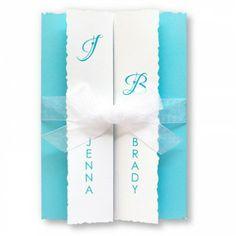 Ruffles & Bows Wedding Invitations