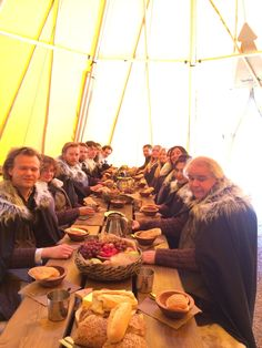 Enjoy a medieval Game Of thrones banquet