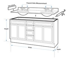 Image Gallery For Website Bathroom cabinet mm depth