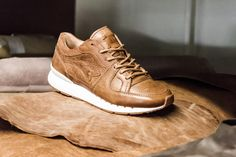 Delicacies are always a welcome theme in sneaker collaborations. The Afew gang from Düsseldorf in Germany seem to have had the same thought, as their inspiration for their most recent collaboration with KangaROOS allegedly originated at breakfast. Andreas Biergen of Afew went into detail with Sneaker Freaker Germany about the upcoming, handmade Coil R-1 'Peanut …