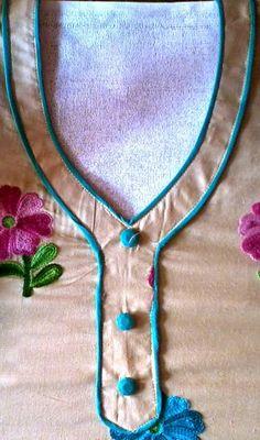 Kameez neck design: women kameez neck design