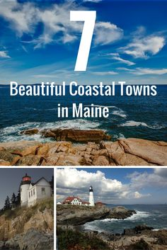 Beautiful Coastal Towns in Maine Pin