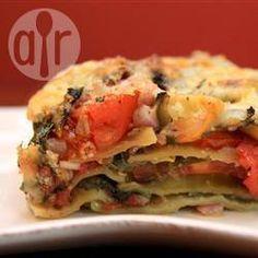 Vegetarian lasagne @ allrecipes.co.uk