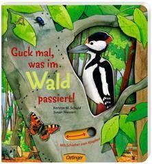 Sie wollen mit Ihrem Kind die Natur entdecken? Dieses Sachbuch stellt den Wald und seine Bewohner vor. Nach der Lesestunde können Sie einen Spaziergang mit der Familie machen und die Pflanzen und Lebewesen in der Natur betrachten.