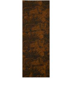 Simeon Farrar Brown Map Print Tencel-Blend Scarf | Scarves | Liberty.co.uk