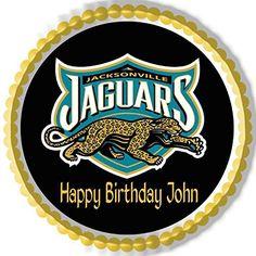 Jacksonville Jaguars 2 Edible Birthday Cake OR Cupcake To... https://www.amazon.com/dp/B0764JVC68/ref=cm_sw_r_pi_dp_x_eQS3zbFF161V2