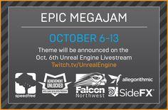 Game Jam Epic MegaJam! Oct. 6-13th, 2016