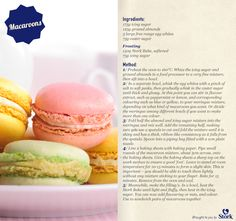 Macaroons need we say more? French Macaroon Recipes, French Macaroons, French Desserts, French Food, Stork Recipes, Bakery Recipes, Cooking Recipes, Delicious Desserts, Yummy Food