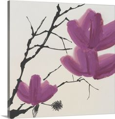 Urban Collection Premium Thick-Wrap Canvas Wall Art Print entitled Sakura II, None