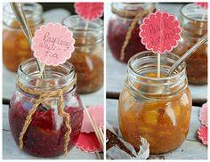 honey sweetened freezer Jams