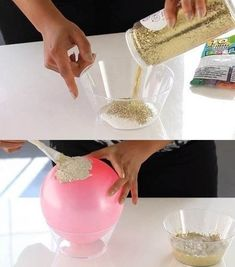 1 million+ Stunning Free Images to Use Anywhere Diy Home Crafts, Diy Crafts For Kids, Handmade Crafts, Concrete Bowl, Balloon Crafts, Watermelon Birthday, Cardboard Gift Boxes, Concrete Crafts, Diy Bottle