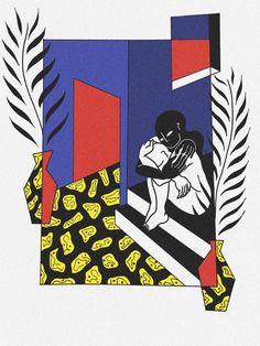 """A paradox of sweetness, serenity and internal questioning"": meet illustrator Léna Mačka Art Et Illustration, Illustrations, Pop Art, Grafik Design, Paradox, Art Design, Art Inspo, Wallpaper, Sketches"