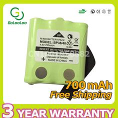 700mAh 4.8V NI-MH Battery For Uniden BP-38 BP-40 BT-537 BT-1013 GMR FRS 2Way radio interphone interco walkie-talkie bateria #Affiliate