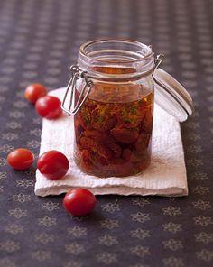 Tomates cerises séchées et confites - Recettes de cuisine Ôdélices